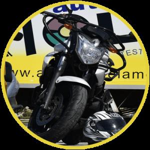 permiso a moto malaga