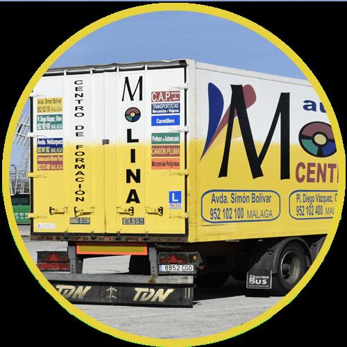 permiso camion + cap malaga